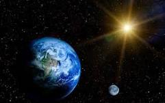 Earth is a spinning ball