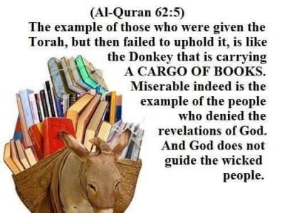 The Quran exposes hadith, sunna, ijma, sharia and salaf